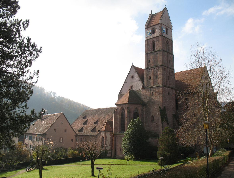 Kloster Alpirsbach; Foto: Staatliche Schlösser und Gärten Baden-Württemberg, Urheber unbekannt