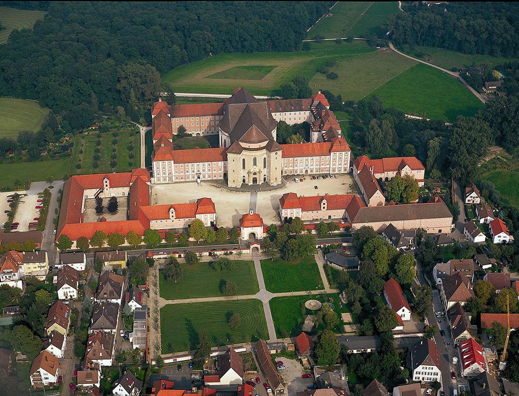 Luftaufnahme Kloster Wiblingen; Foto: Staatliches Vermögens- und Hochbauamt Ulm, R. Mayer