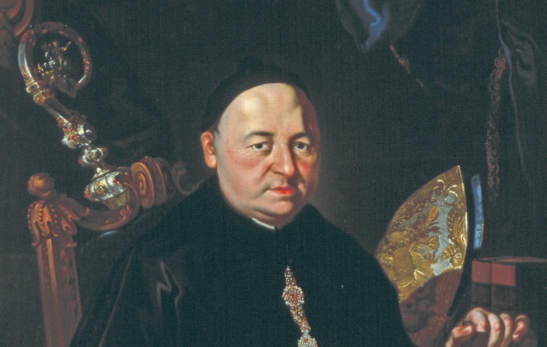 Bildnis von Abt Romuald Weltin im Museum von Kloster Ochsenhausen; Foto: Staatliche Schlösser und Gärten Baden-Württemberg, Steffen Hauswirth