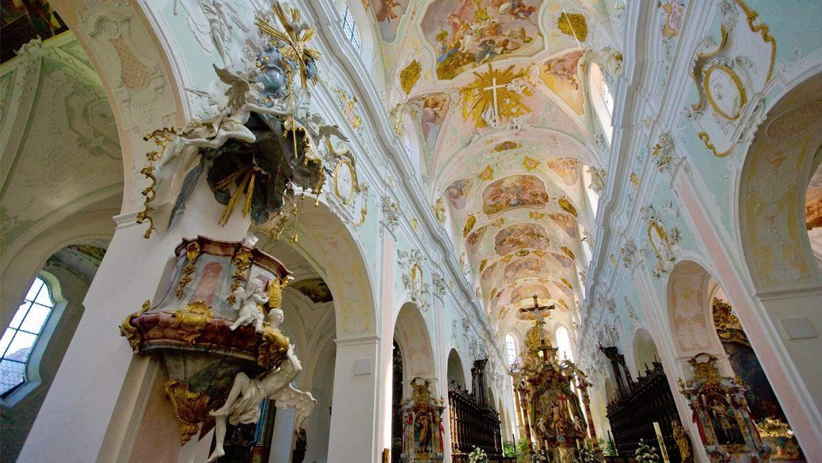 the monastery church; photo: Staatliche Schlösser und Gärten Baden-Württemberg, Achim Mende