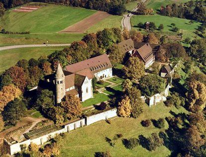 Luftaufnahme Kloster Lorch; Foto: Landesmedienzentrum Baden-Württemberg, Albrecht Brugger