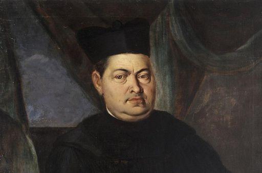 Porträt von Abt Nikolaus Faber, einer der Äbte von Kloster Ochsenhausen; Foto: Staatliche Schlösser und Gärten Baden-Württemberg, Steffen Hauswirth