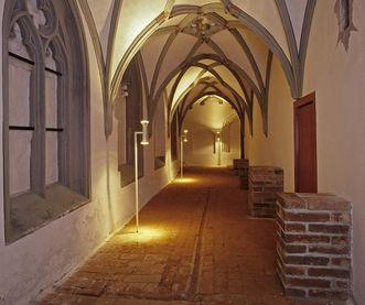 Kreuzgang der Prälatur von Kloster Ochsenhausen; Foto: Staatliche Schlösser und Gärten Baden-Württemberg, Steffen Hauswirth