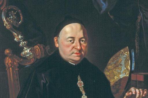 Porträt von Abt Romuald Weltin, einer der Äbte von Kloster Ochsenhausen; Foto: Staatliche Schlösser und Gärten Baden-Württemberg, Steffen Hauswirth