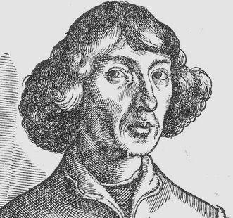 Portait des Nikolaus Kopernikus, Holzschnitt von Nikolaus von Reusner