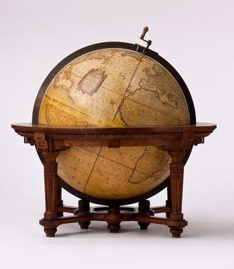 Globus aus dem Kloster Salem, heute im Museum im Kloster Schussenried