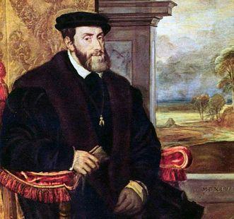 Karl V., Gemälde von Tizian, wird heute Lambert Sustris zugeschrieben