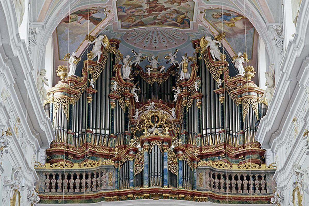 Orgel der Klosterkirche von Kloster Ochsenhausen