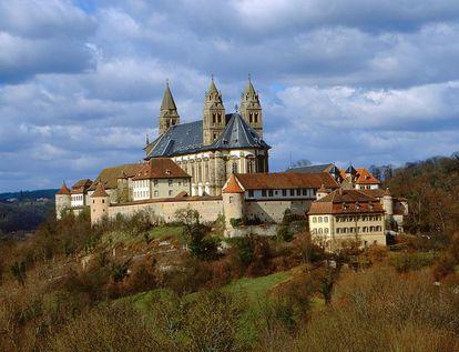 Kloster Großcomburg; Foto: Staatliche Schlösser und Gärten Baden-Württemberg, Arnim Weischer