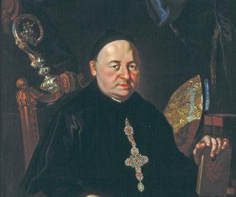 Bildnis von Abt Romuald Weltin im Museum von Kloster Ochsenhausen