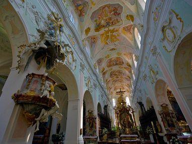Kloster Ochsenhausen, Kirche