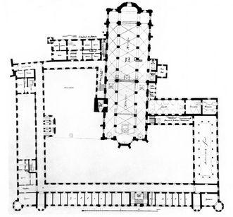 Grundriss von Kloster Ochsenhausen
