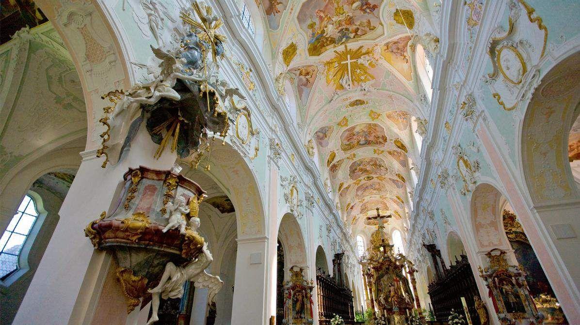Monastère d'Ochsenhausen; l'image: Staatliche Schlösser und Gärten Baden-Württemberg, Achim Mende