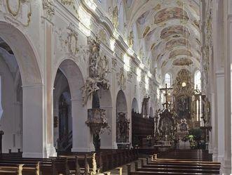Ochsenhausen Kirchenschiff