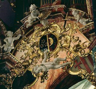 Detail der Gabler-Orgel in der Klosterkirche von Kloster Ochsenhausen; Foto: Stadtverwaltung Ochsenhausen