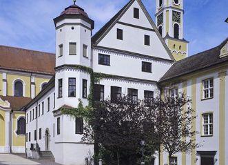 Prälatur von Kloster Ochsenhausen von Süden